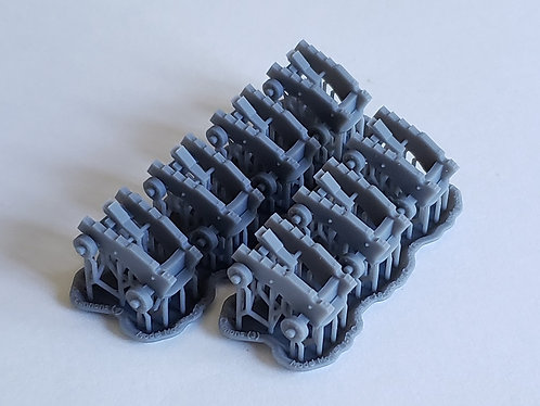 """1/72 Carriages for 18-pounder """"long-pattern"""" Cannons"""