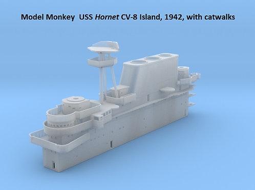 1/200 USS Hornet CV-8 Island, 1942