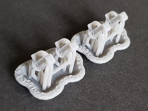 1/350 RMS Lusitania and RMS Mauretania Cargo Cranes (set of 4)