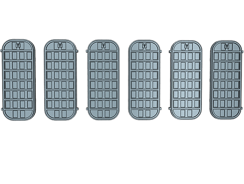 "1/100 Ship's Doors, US Navy, Set F (7-bar condition ""Y"")"