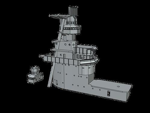 1/350 USS Lexington CV-2 Island, 1936-1940