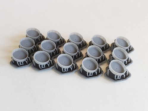 "1/350 Tubs for 3""/50 cal. mounts (set of 15)"