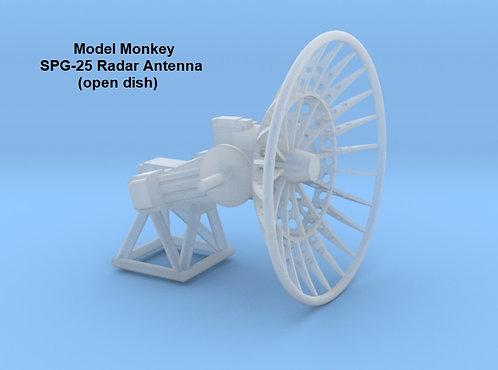 1/96 SPG-25 Radar Antenna, open dish