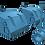 """Thumbnail: 1/100 Aircraft Carrier, Cruiser and pre-war Battleship 5""""/38 cal. Mk.32 Mounts"""