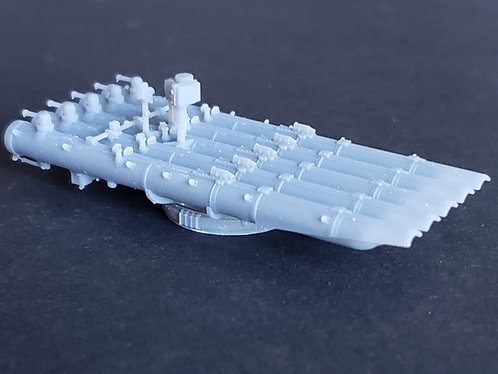 1/125 Quintuple Torpedo Mount for US Navy Destroyers