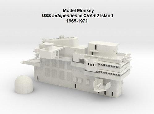 1/144 USS Independence CVA-62 Island, 1965-1971