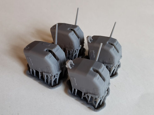 "1/144 Sims, Benson and Gleaves class 5""/38 cal. Mk.30 Mounts, early"