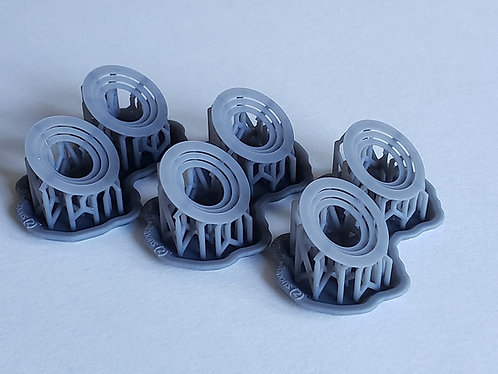 1/144 Stepped Risers for 20mm Oerlikon Cannon Gun Tubs