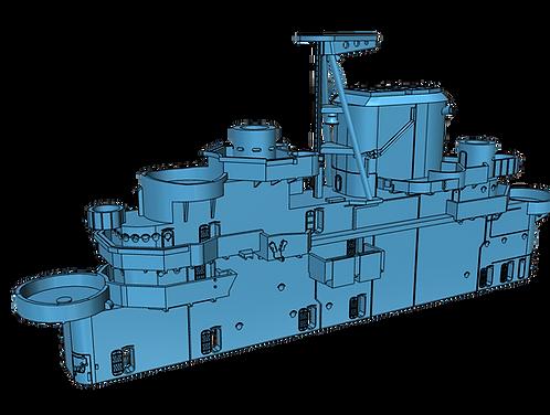 1/525 USS Lexington CV-16 Island, February - December 1943