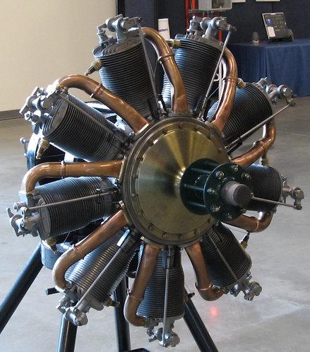 1/28 Sopwith Camel Le Rhône 9C Motor