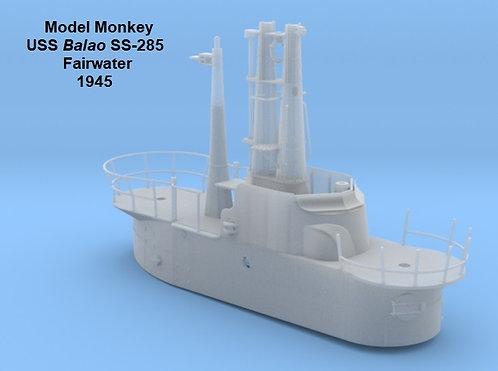 1/32 USS Balao SS-285 Fairwater (1945)