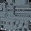 Thumbnail: 1/600 USS Saratoga CV-60 Island 1970-1975