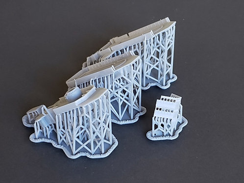1/350 USS Salem CA-139 Bridge