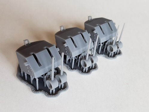 "1/192 Sumner and Gearing class 5""/38 cal. Mk.38 Mounts"
