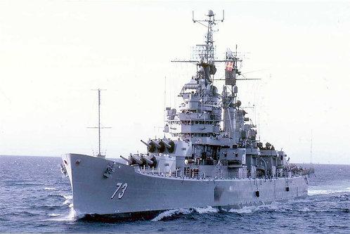 1/96 USS St. Paul CA-73 Enclosed Bridges, 1968