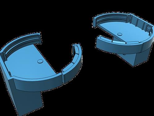1/301 Fletcher class Midships Quadruple Bofors Tubs, late war