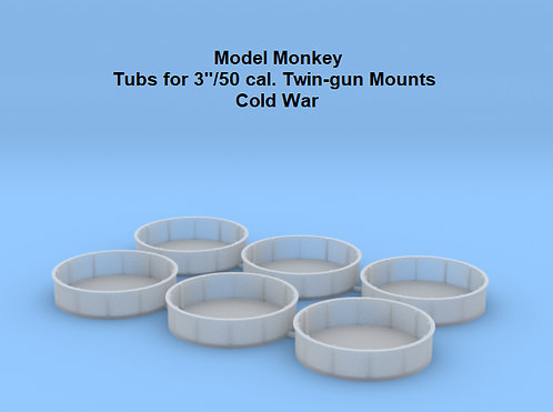 "1/96 Tubs for 3""/50 cal. Mounts"