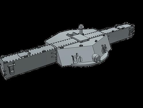 1/96 Mk.38 Main Battery Fire Control Director, modernized Iowa class