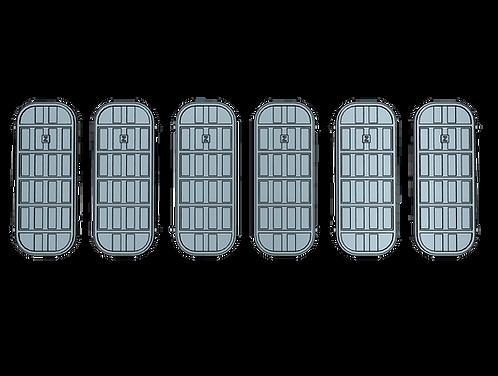 "1/100 Ship's Doors, US Navy, Set B (5-bar condition ""Z"")"