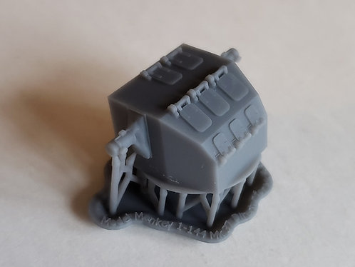 "1/144 Mk.37 Fire Control Director, ""Square-back"" for Mk.4 Radar"