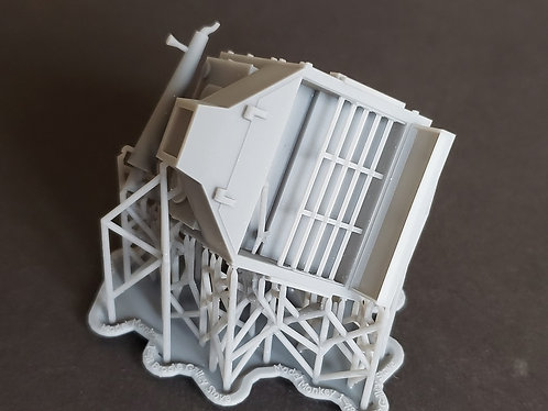 """1/48 """"Brodie"""" Galley Stove for 19th Century Ships"""