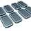 Thumbnail: 1/128 Life Rafts, 25-man rectangular (set of 8)