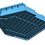 "Thumbnail: 1/72 Fletcher class ""Square Bridge"" Deck (no CIC)"