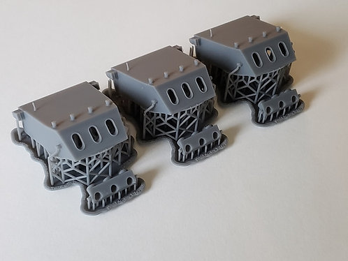 "1/192 Baltimore class 8""/55 cal. Turrets (WWII-era"