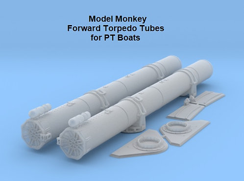 1/64 Forward Torpedo Tubes for Elco PT Boats