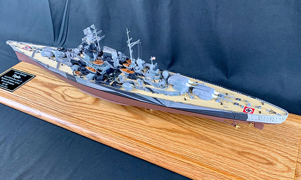 Revell 1-350 Tirpitz valued customer b.j