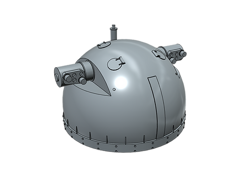 1/100 Kriegsmarine SL-8 Domed Rangefinder