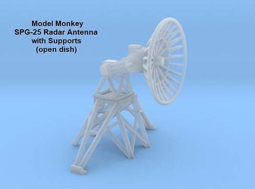 1/72 SPG-25 Radar Antenna, open dish