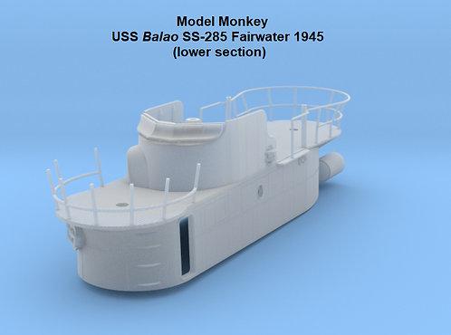 1/72 USS Balao SS-285 Fairwater (1945), lower section