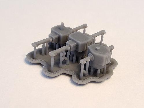 1/350 Bismarck and Tirpitz Main Battery Rangefinders