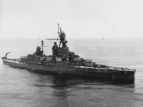 USS Pennsylvania BB-38 Superstructure 1945 Assembly Guide