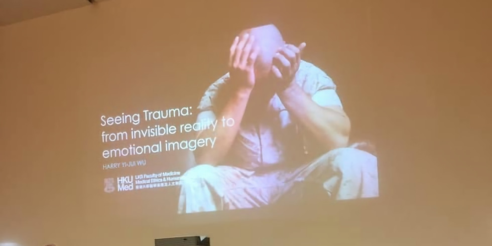 Seeing trauma: from invisible reality to emotional imagery