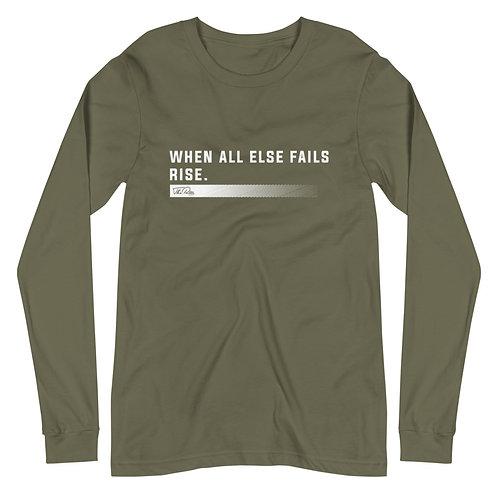 When All Else Fails | Military Green Long Sleeve