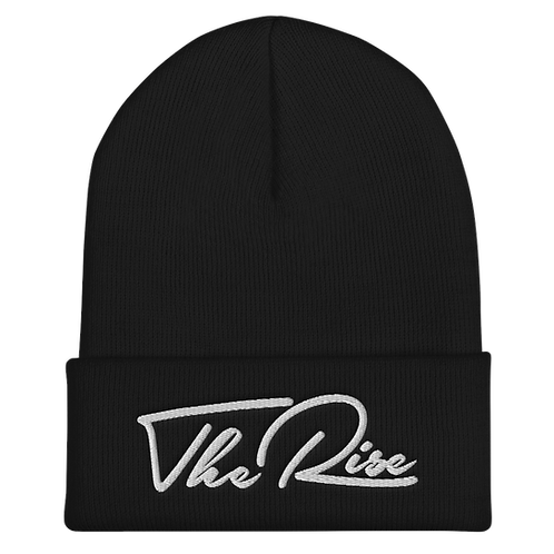The Rise Embroidered   Classic Icon Beanie