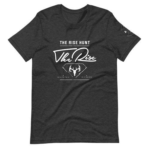 Whitetail Division Tee | Charcoal Heather Grey