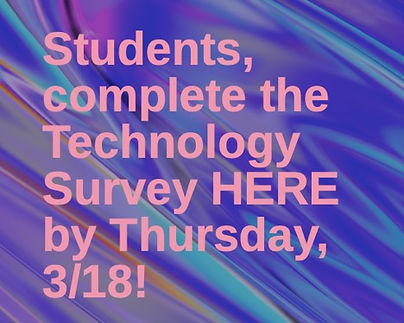 Student Technology Survey