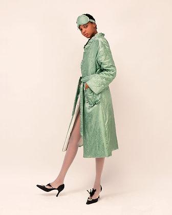 Reversible Duvet Coat-Robe