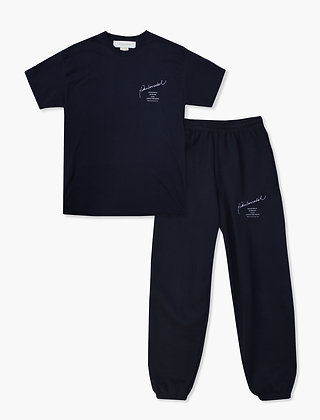 COLLECTION NAVY T-SHIRT SET