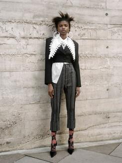 Wearing: Cropped Marlene Jacket