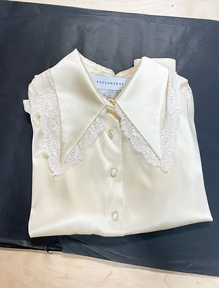 Lace Paris Shirt in Yellow