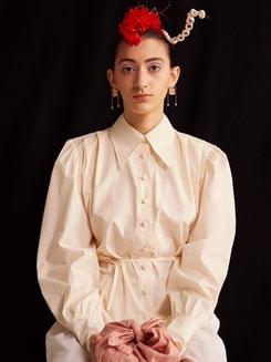 Wearing: Antique shirt