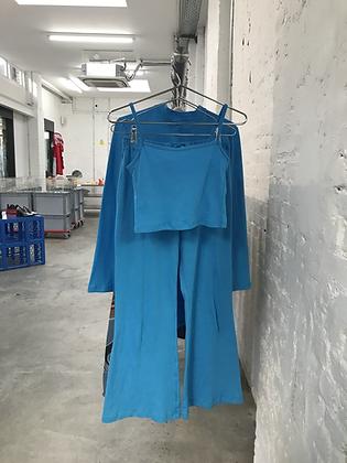 Rosie Turquoise Loungewear Set