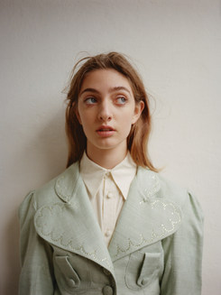 Wearing: Cropped Melody jacket