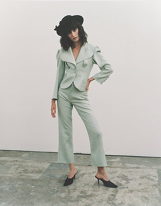 Melody Trousers Denim Style