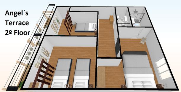 Angel´s Terrace 2º Floor - plano 3