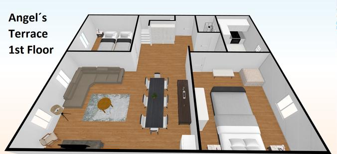 Angel´s Terrace 1st Floor - Plano 2